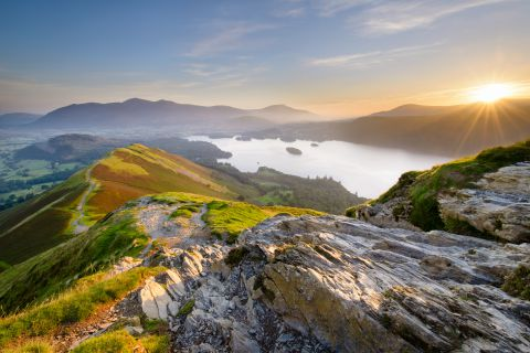 Zonsopgang in de Lake District